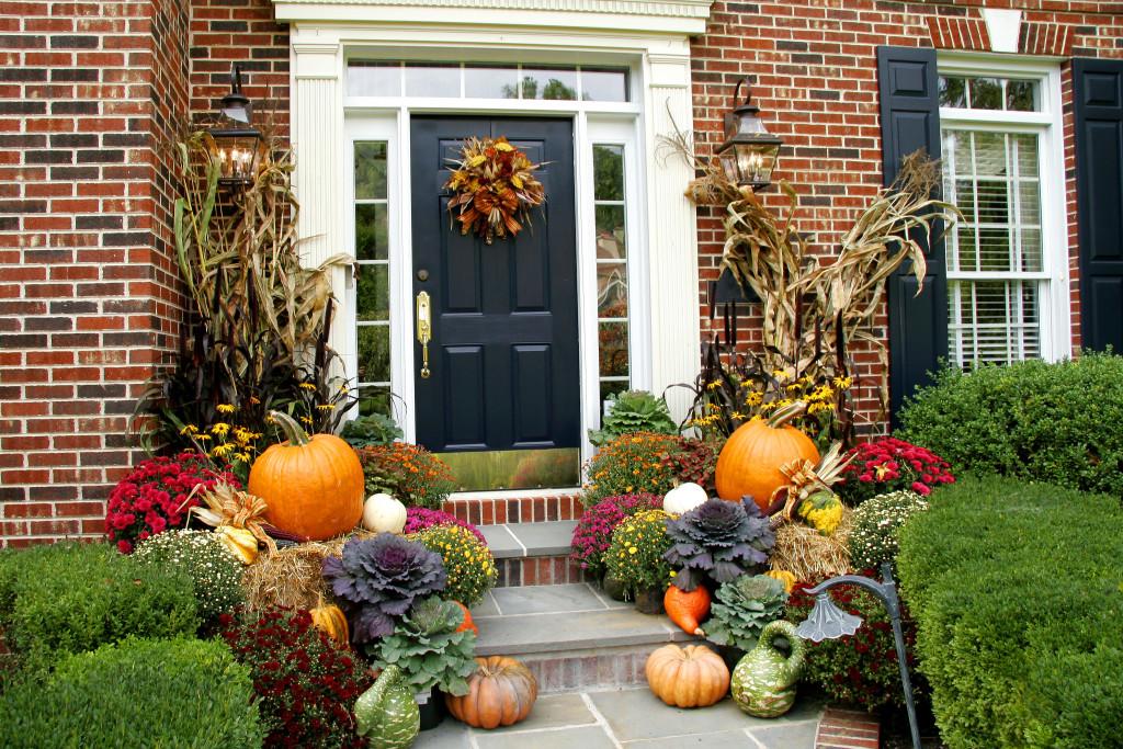 Fall Front Door Image