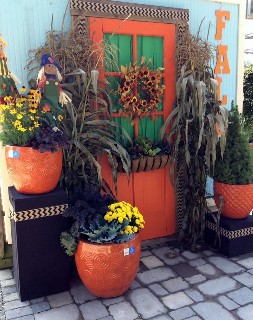 Decorated Fall Door