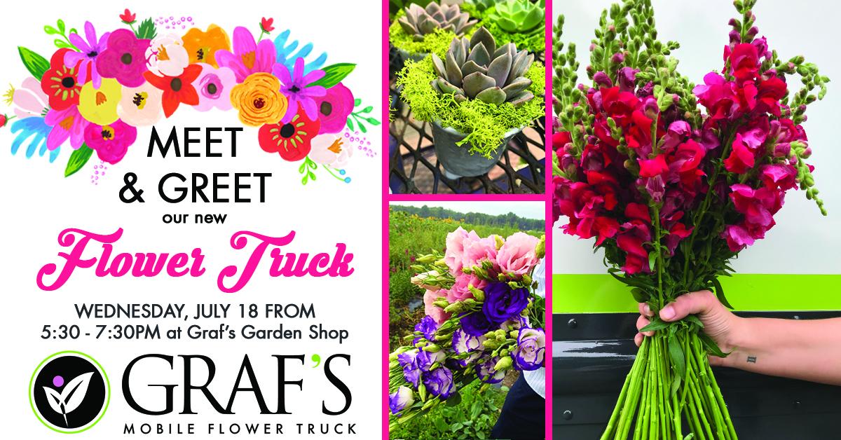 Graf's Flower Truck Meet and Greet @ Graf's Garden Shop | Akron | Ohio | United States