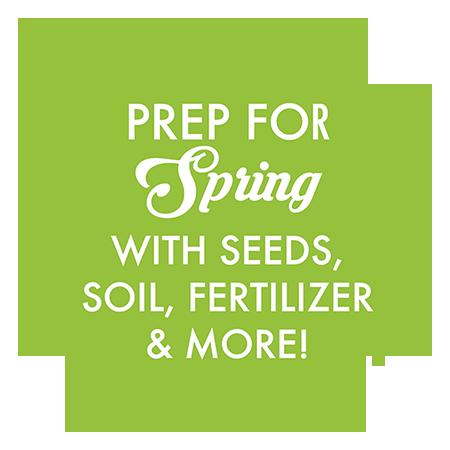 soil, seeds, fertilizer