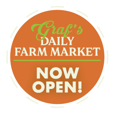 Graf's Daily Farm Market Now Open!