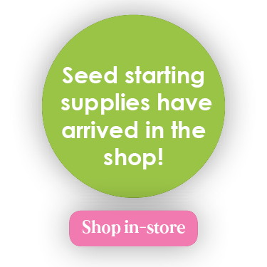 Seed starting supplies have arrives in the shop!